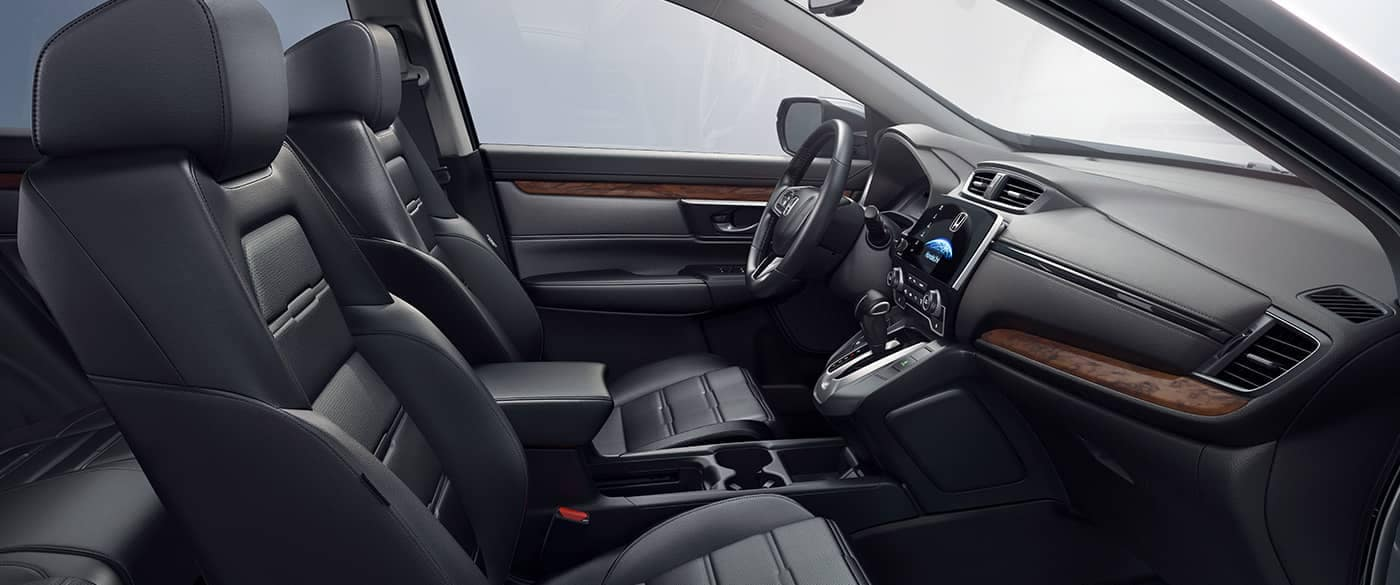 2018 Honda CR-V Black Interior