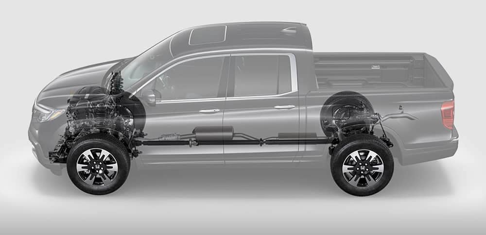 2019 Honda Ridgeline See Through