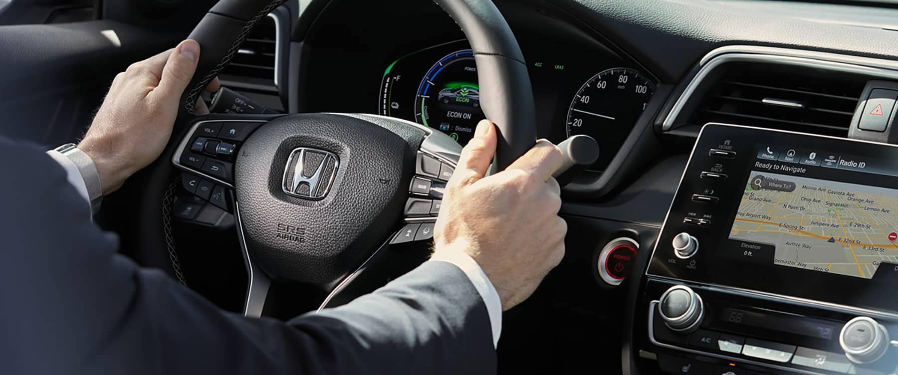 2019 Honda Insight Steering Wheel