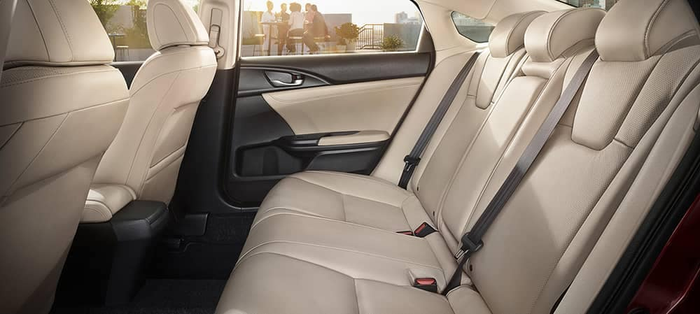 2019 Honda Insight Seatbelts
