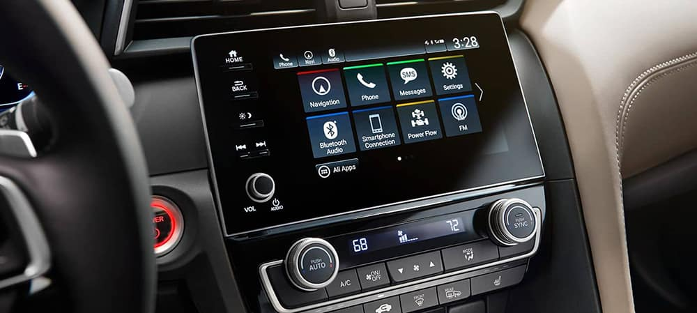 2019 Honda Insight Touchscreen