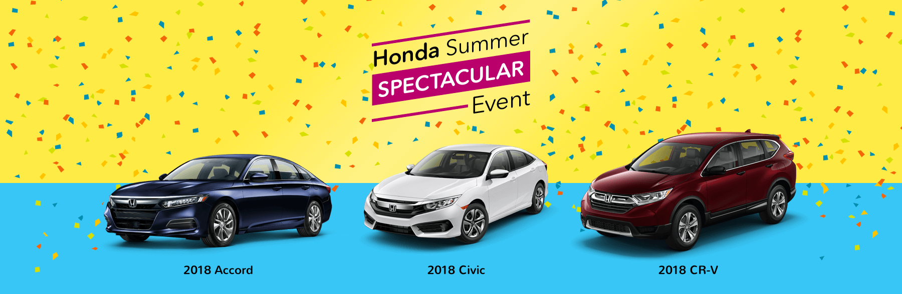 Honda Summer Spectacular Event Slider