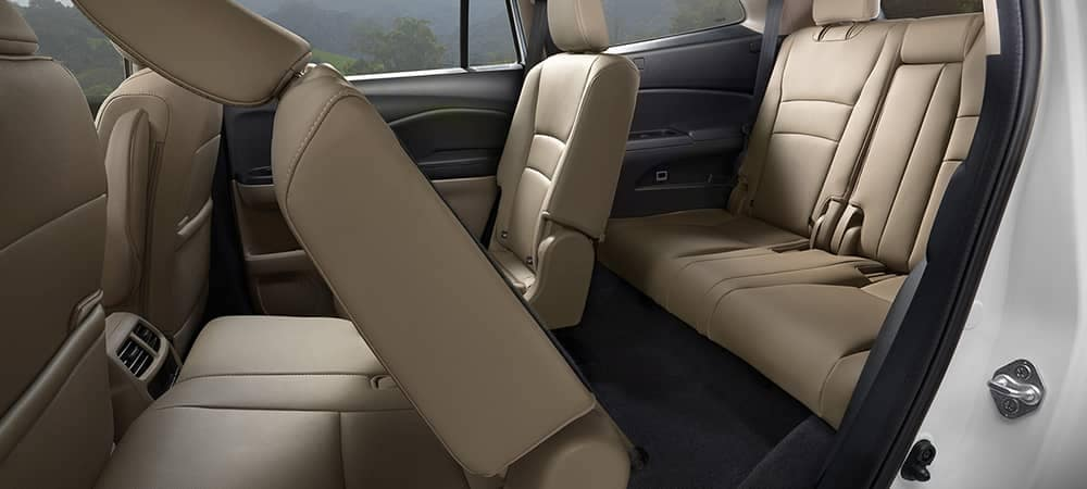 2019 Honda Pilot 2nd Row Seats