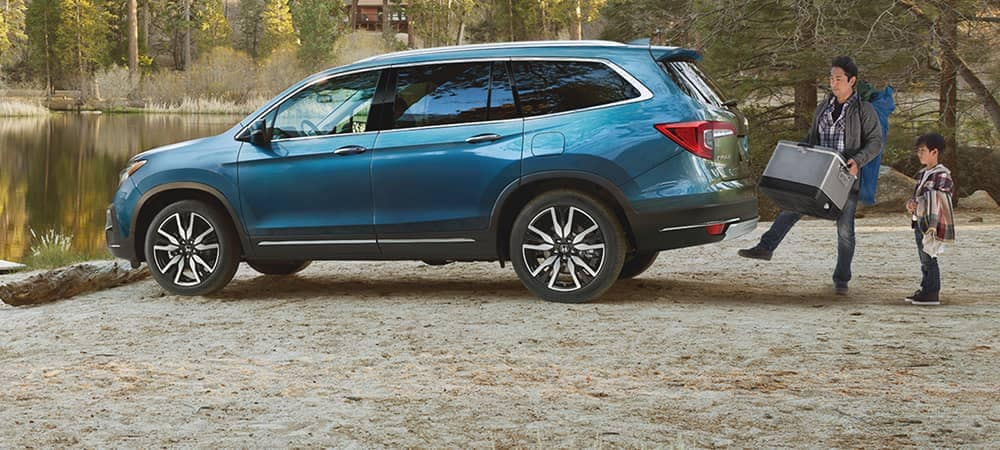 The 2019 Honda Pilot Cargo Space Carries All Your Needs