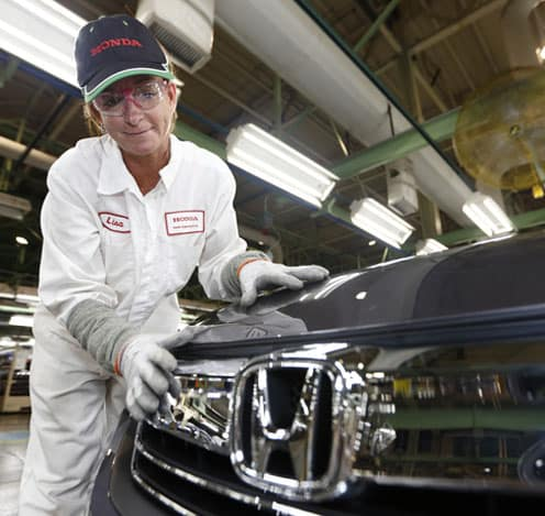 Honda Manufacturing Worker