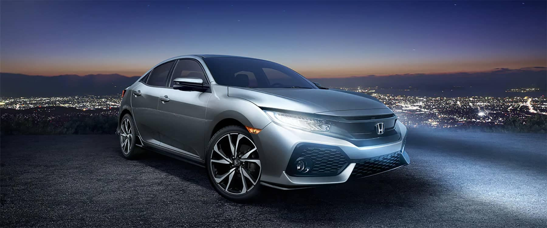 2019 Honda Civic HB Headlights