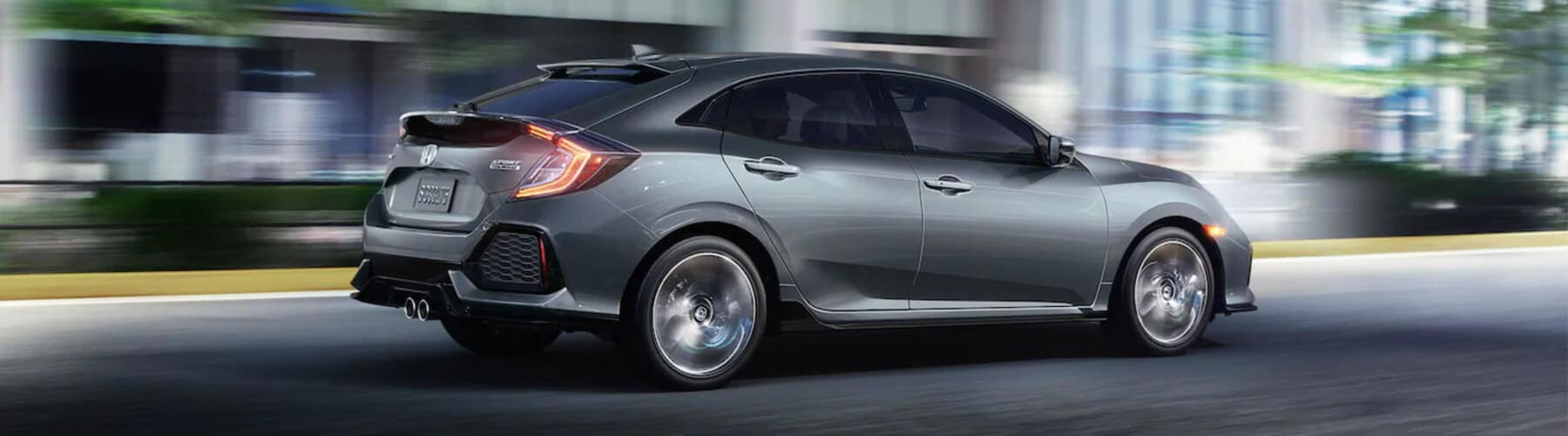 2019 Honda Civic Hatchback Banner