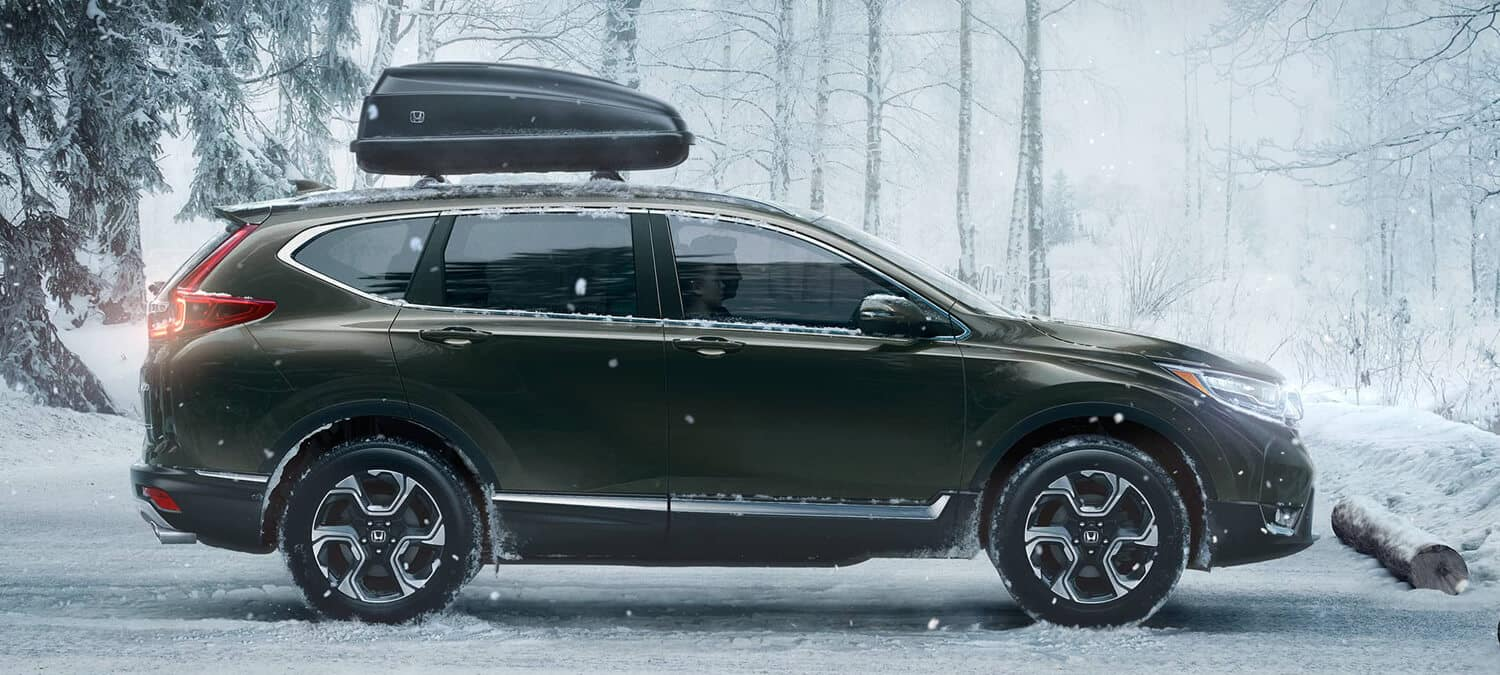 2019 Honda CR-V Exterior Side Profile Winter