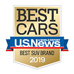 U.S. News 2019 Best SUV Brand Honda Passport