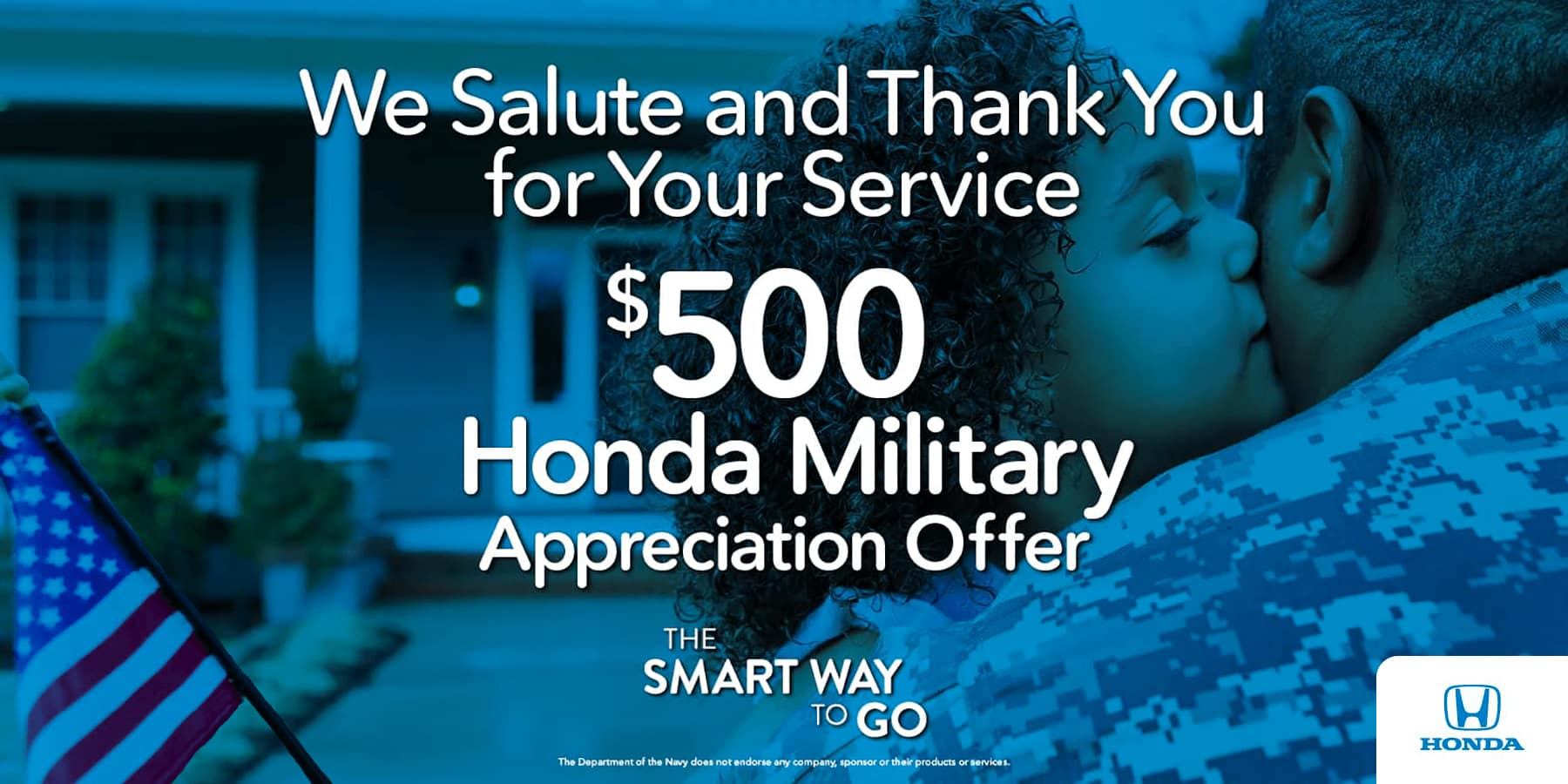 Honda Military Appreciation Offer HP Slide