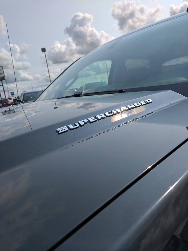 Customized Black GMC Sierra Supercharged Pickup Truck - Decal, Custom Rims - Westridge Customs