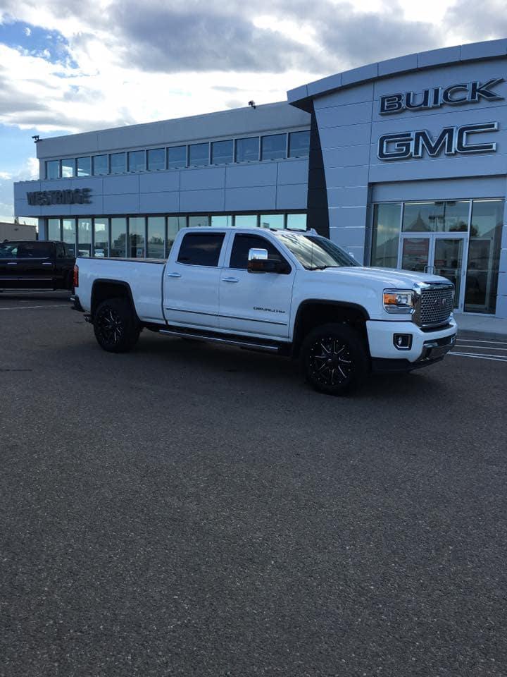 2018 White Custom GMC Sierra - Westridge Customs