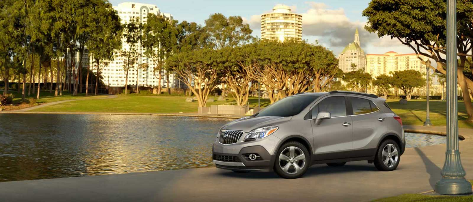 2015 Buick Encore in the park