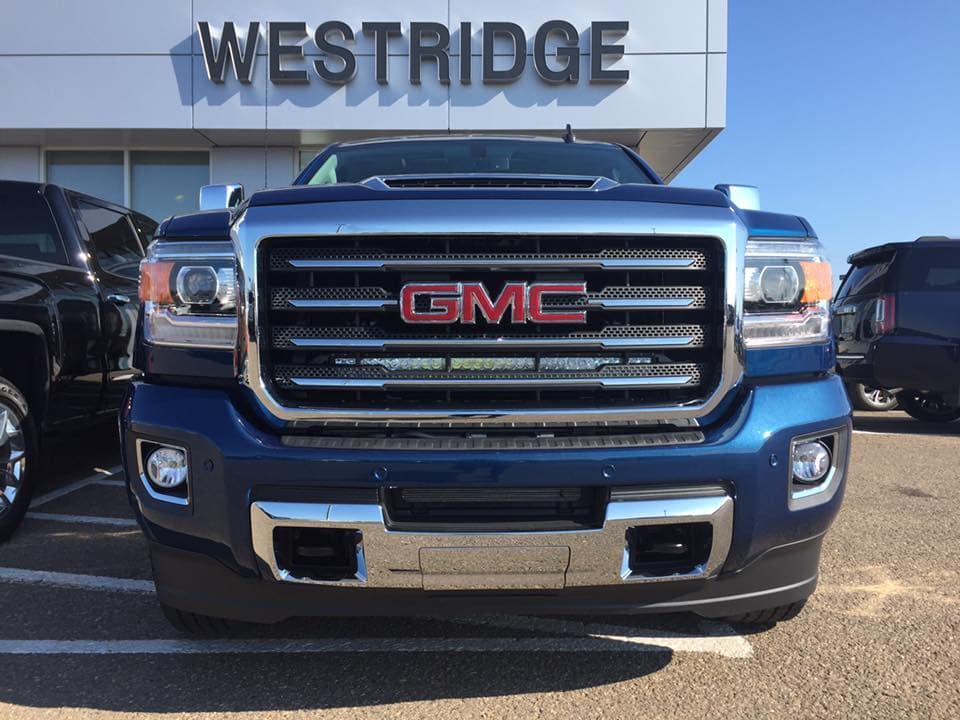 Customized Blue 2018 GMC Sierra - Westridge Customs