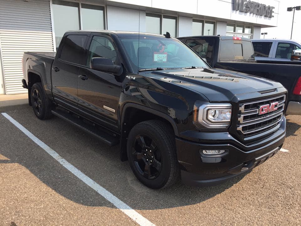Customized Black GMC Sierra Elevation Pickup Truck - Westridge Customs