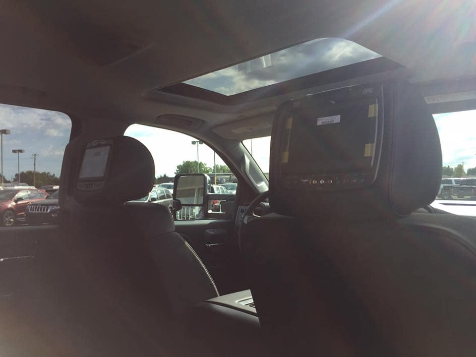 Customized Blue GMC Sierra Pickup Truck - Westridge Customs