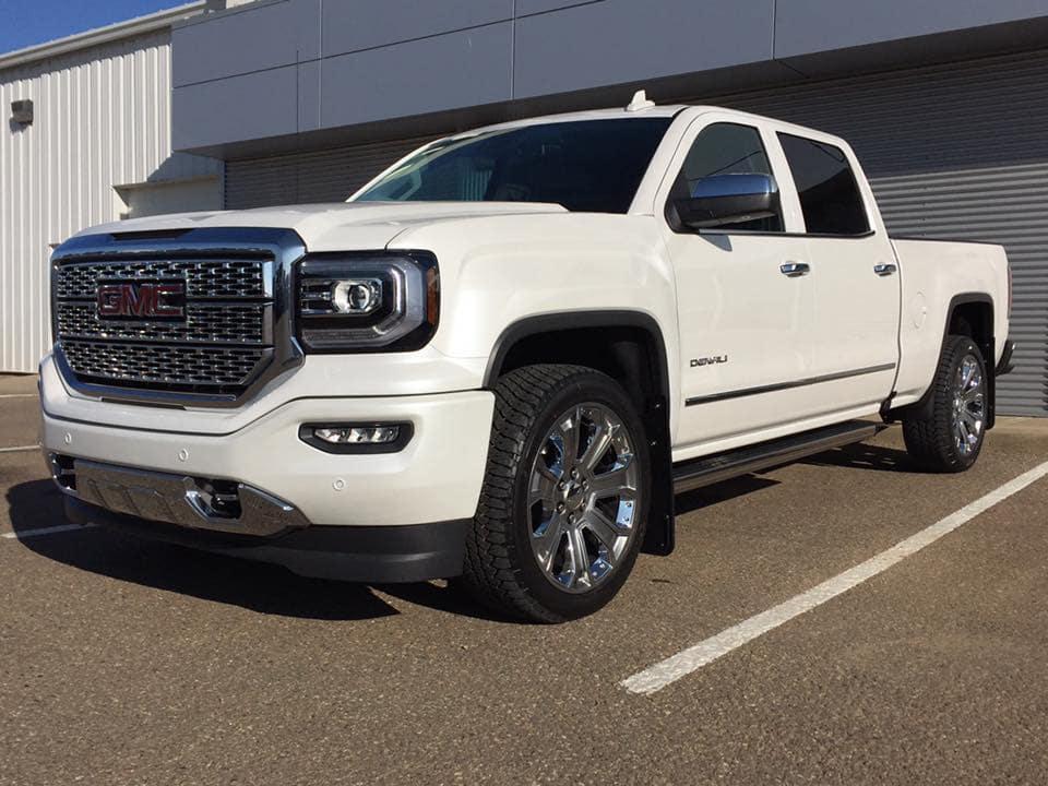 Customized White GMC Sierra Pickup Truck - Westridge Customs
