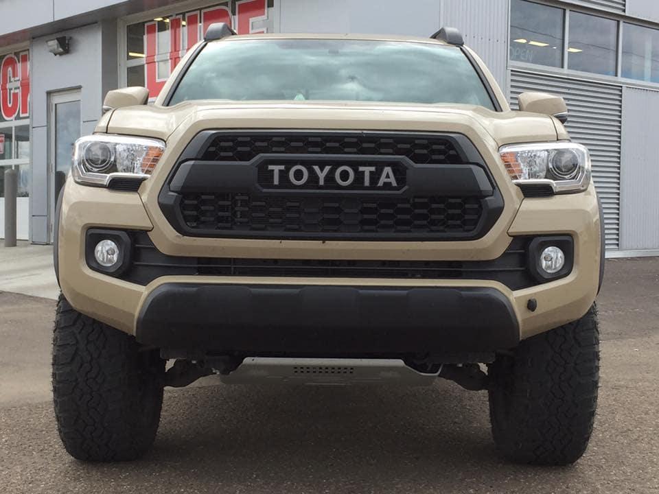 Customized Sand Toyota Tacoma Pickup Truck - Westridge Customs