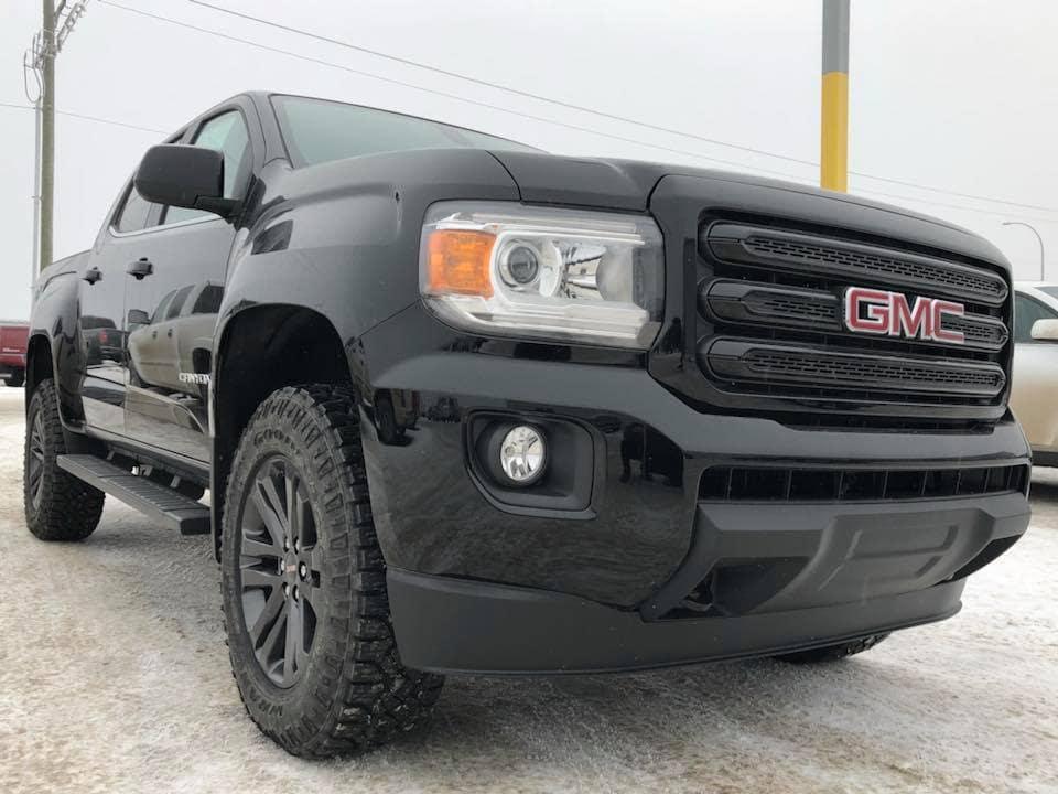 Customized Black GMC Canyon SLE Pickup Truck - Westridge Customs