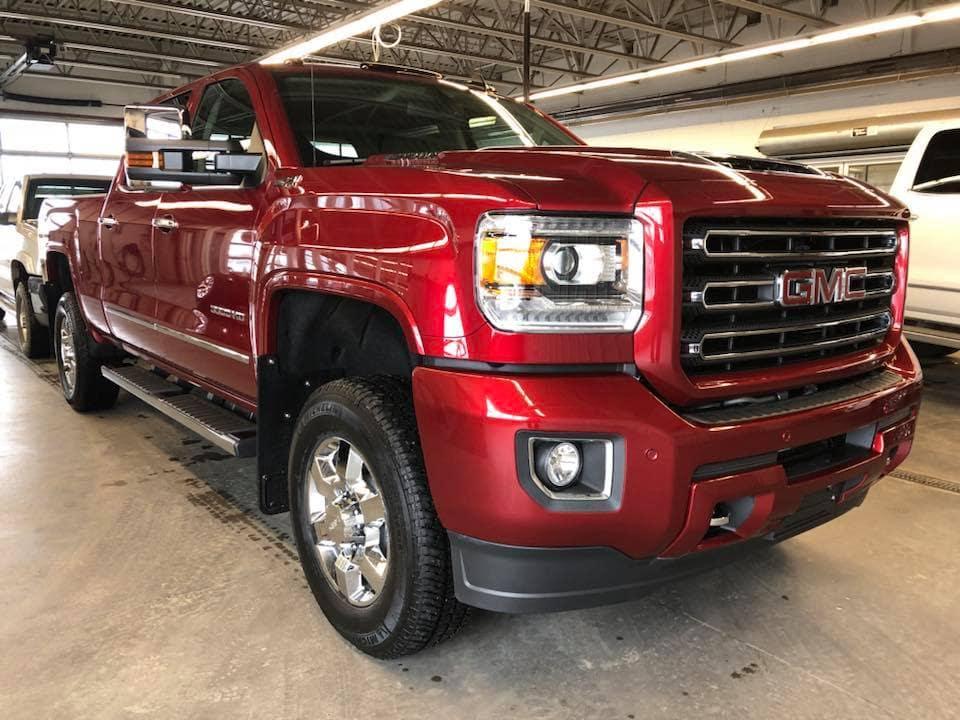 2018 Red Custom Sierra - Westridge Customs