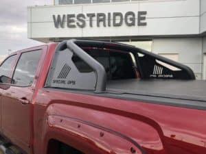 Maroon GMC Sierra Special Ops - Westridge Customs