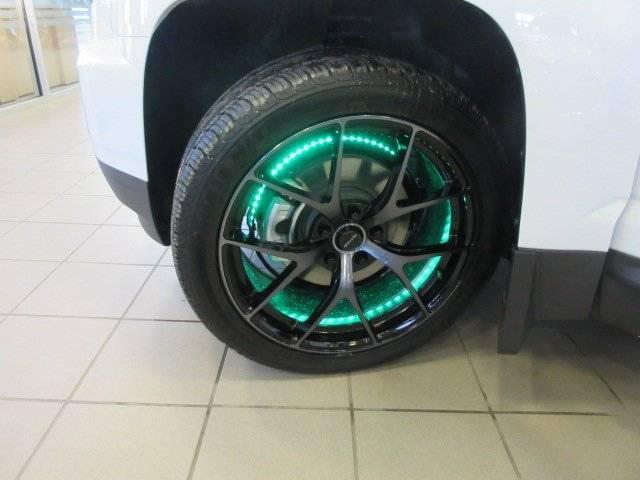 Customized Black GMC Acadia SUV - Custom Rim Light - Westridge Customs