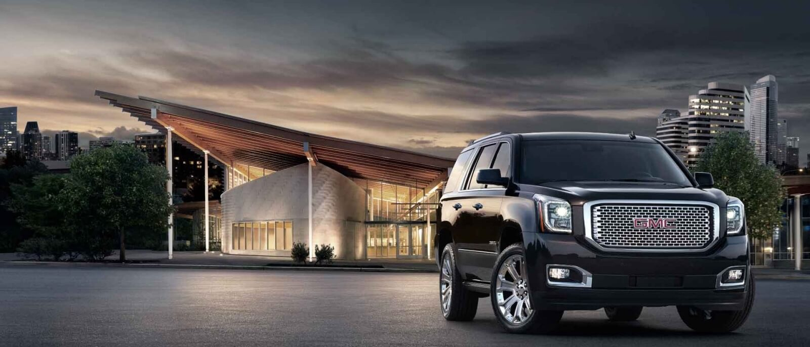 2017 GMC Yukon Denali dark exterior model