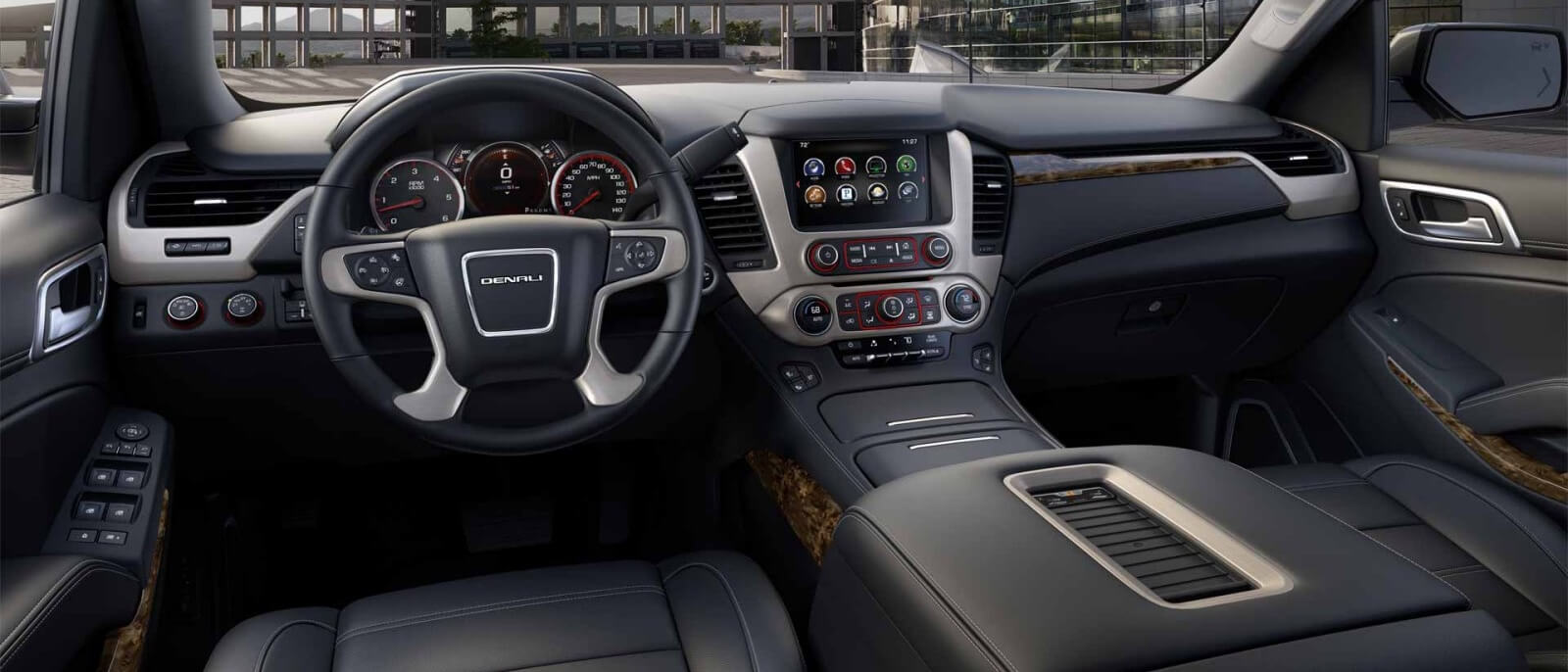 2017 GMC Yukon Denali front interior