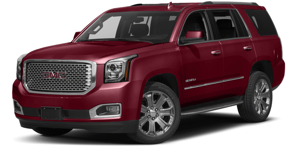 2017 GMC Yukon Denali red exterior model