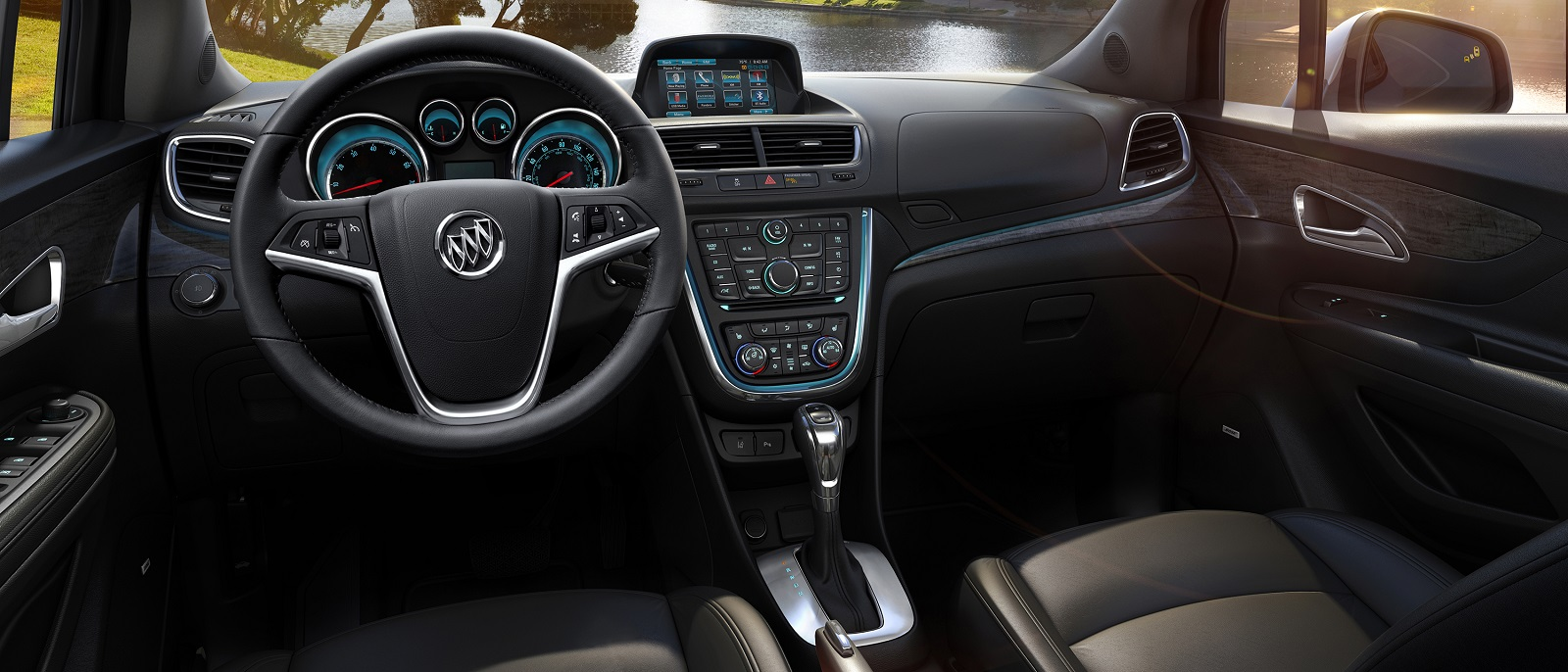 reviews awd test buick car convenience touring encore review s original and driver sport photo