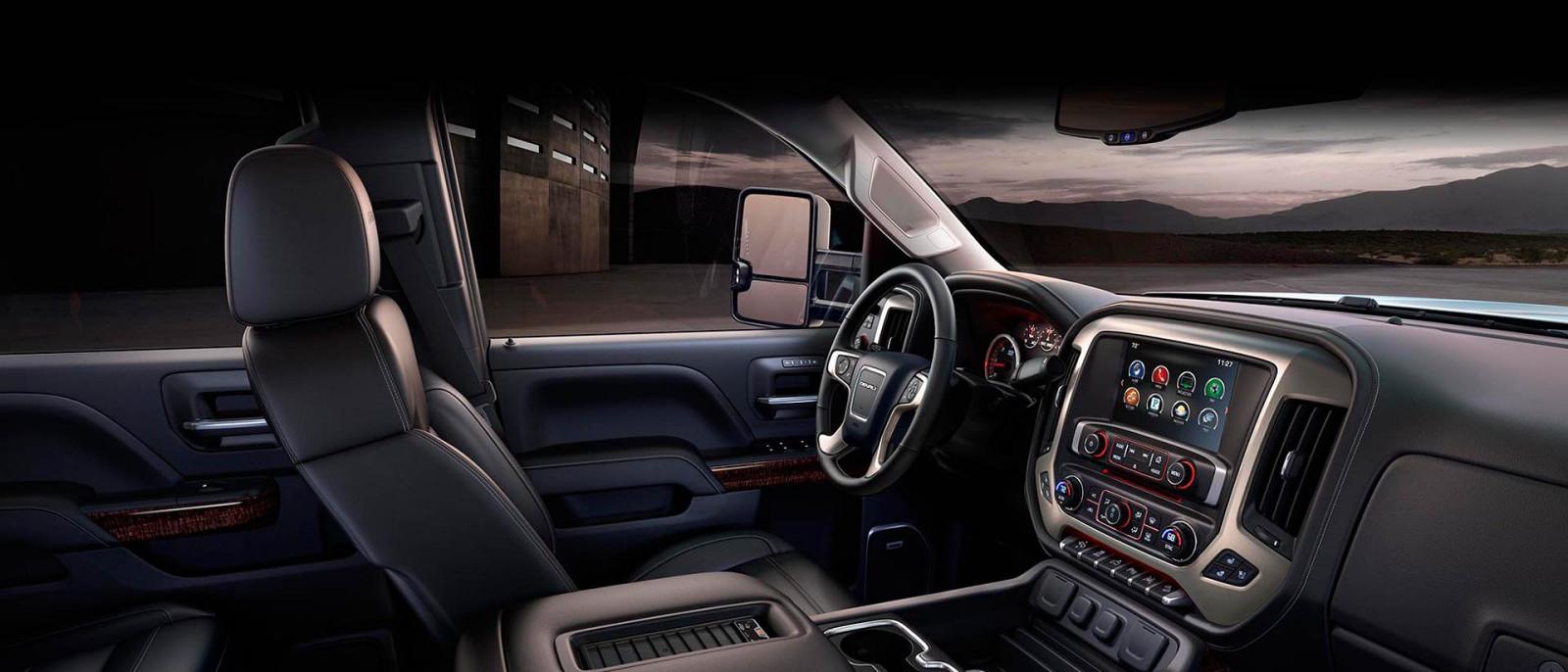 2016 Sierra 3500HD Interior