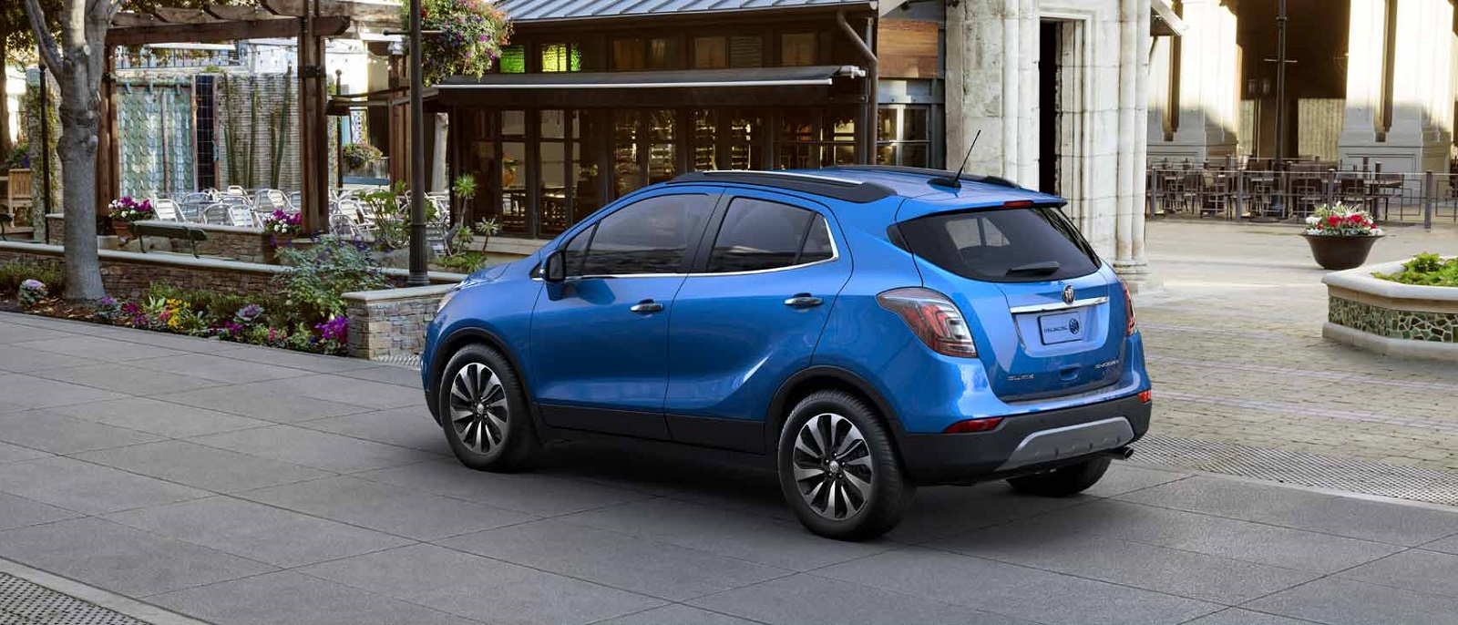 2017 Buick Encore Blue Rear