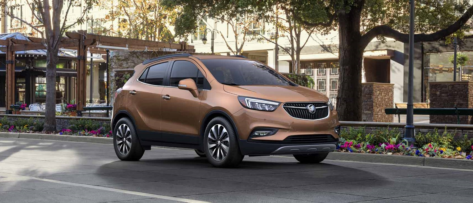 2017 Buick Encore Brown