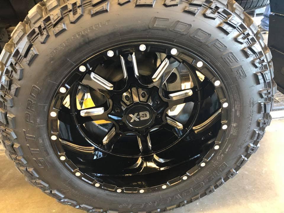 "Custom 2018 GMC 2500 Denali - 6 Inch Lift, 20 Inch XD Mammoth Wheels on 35"" Cooper STT Tires - Westridge Customs"