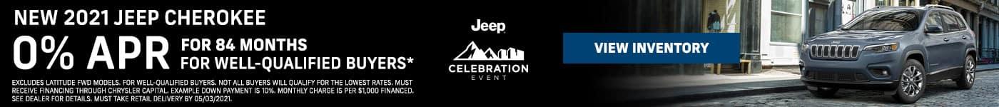 NEW 2021 Jeep Cherokee