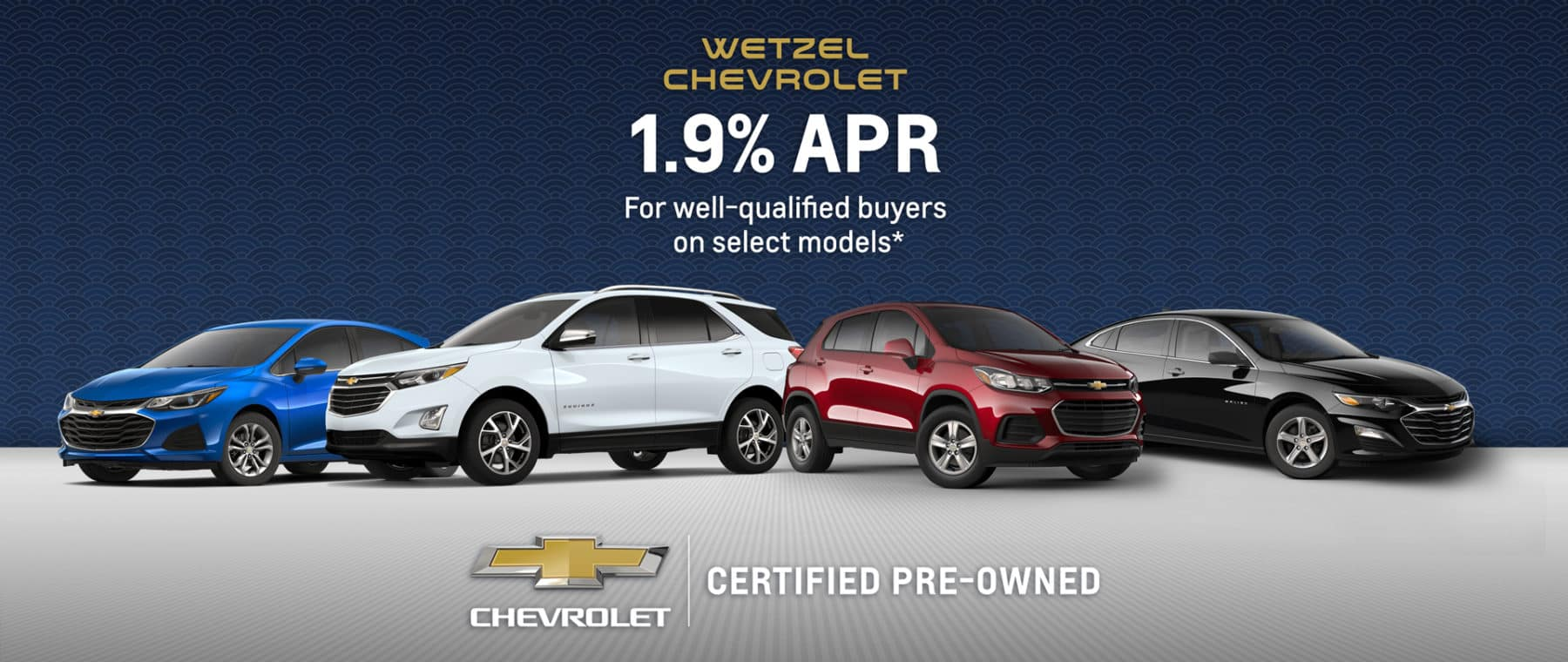 Wetzel Chevrolet Certified Pre-Owned Vehicles