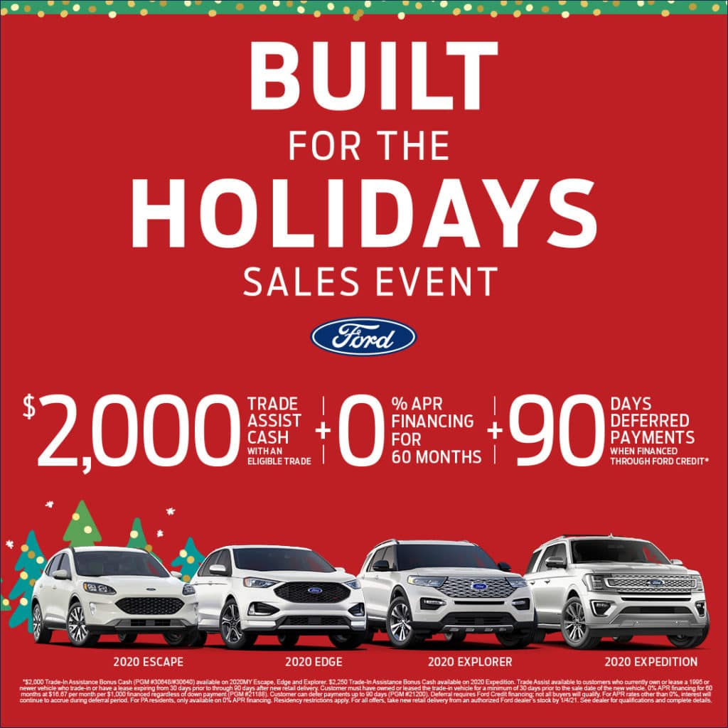 Built for the Holidays at Wetzel Ford