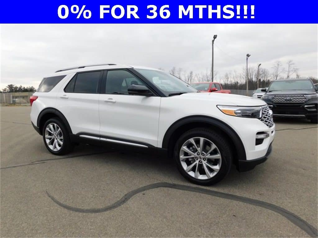 NEW 2021 Ford Explorer Platinum 4WD