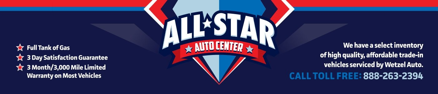 All Star Auto Center Used Vehicles