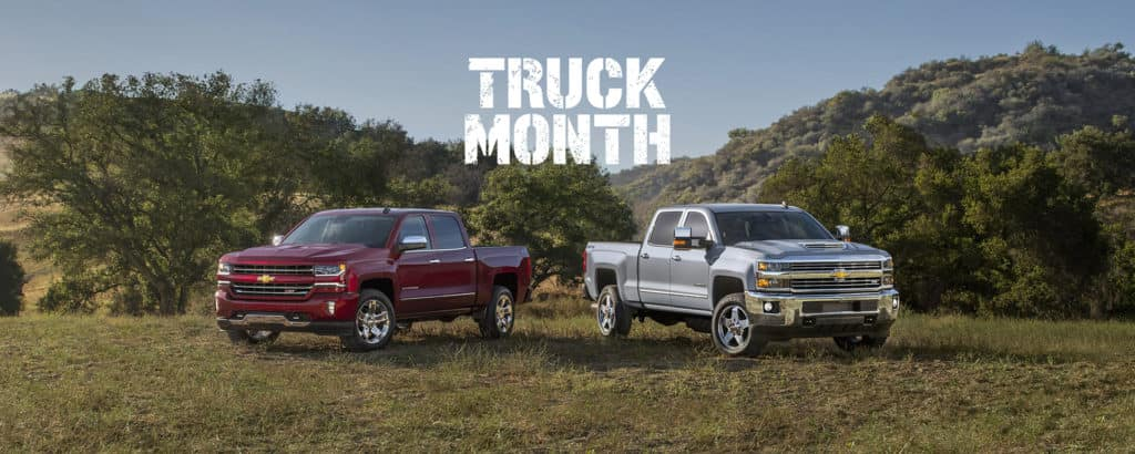 2018 Chevy Silverado Truck Month