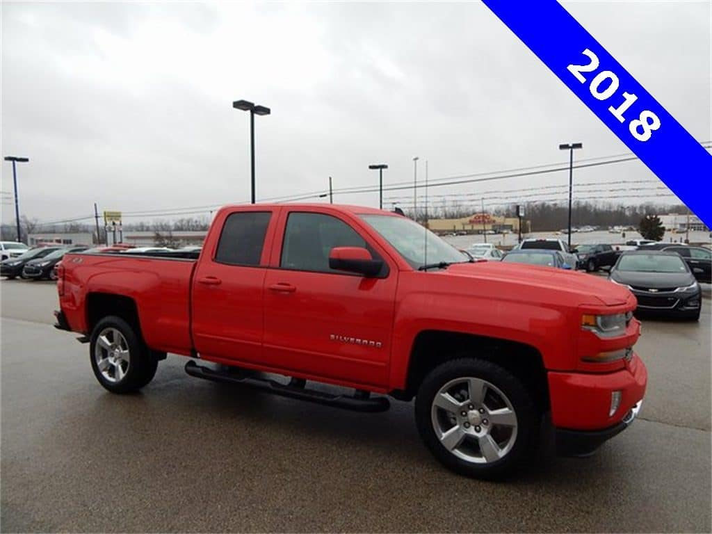 2018 Chevrolet Silverado 1500 Double Cab LT Z71 All Star Edition