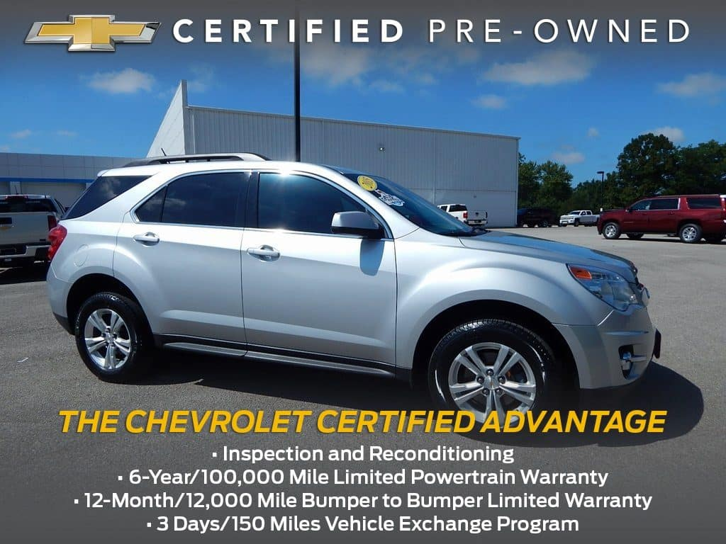 Certified Pre-Owned 2015 Chevy Equinox 2LT FWD