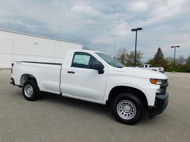 2019 Chevrolet Silverado 1500 Regular Cab Long Box 4WD WT