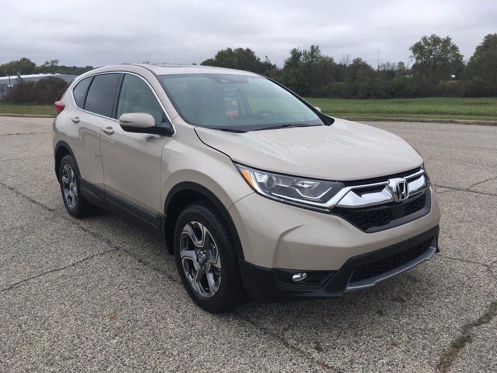 New 2017-2018 Honda CR-V's