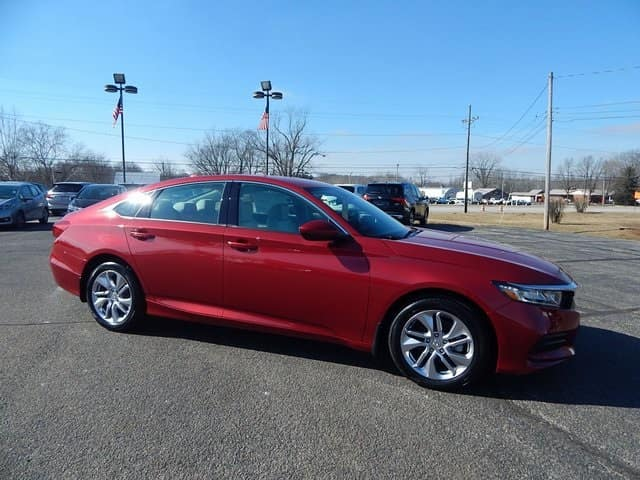 2018 Honda Accord LX CVT Sedan
