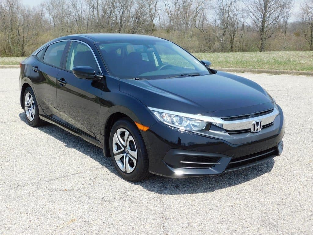 2018 Honda Civic CVT LX FWD 4D Sedan
