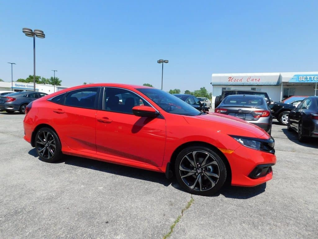 2019 Honda Civic Sport Sedan CVT