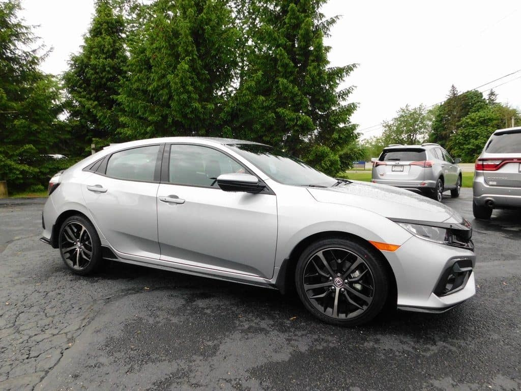 2020 Honda Civic Sedan CVT Sport Hatchback