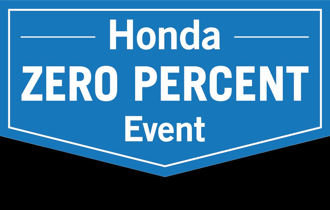 Wetzel Honda Zero Percent Sale
