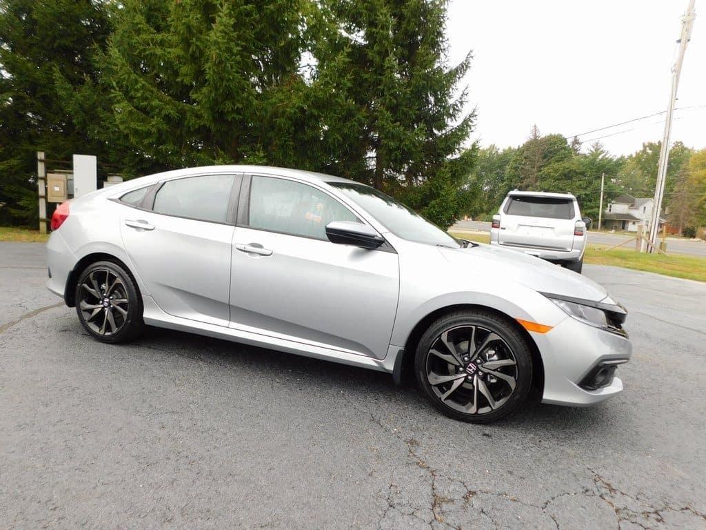 New 2020 Honda Civic Sport CVT Sedan